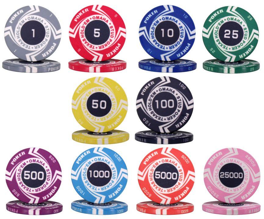 стоимость фишек в казино